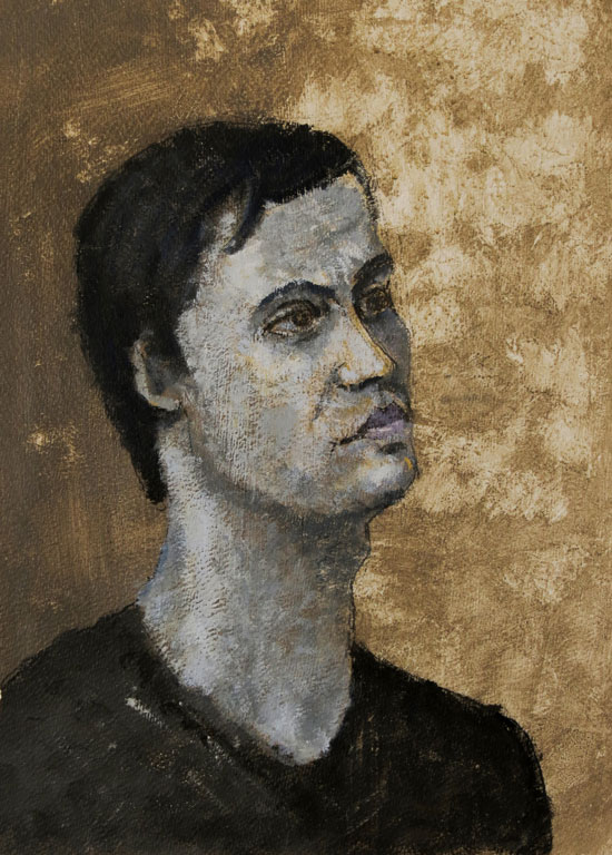 Jouni Tapio - [Paintings] Who are you?
