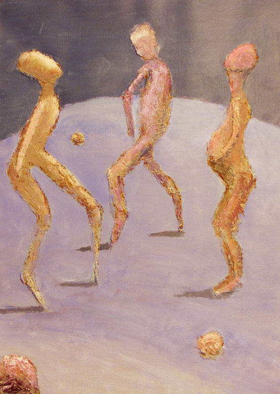 Jouni Tapio - [Paintings] Men's life
