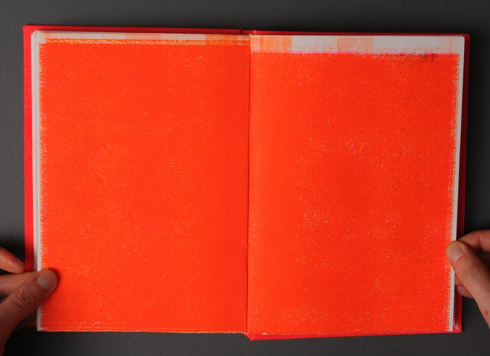 Michelle Shields - Moire in orange