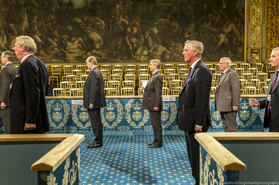 State opening of parliament rehearsal