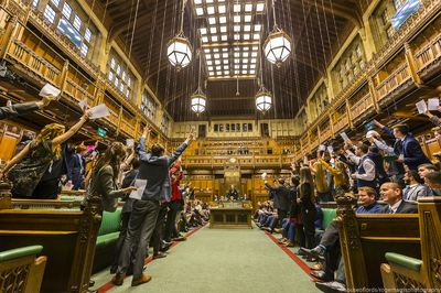 house of commons, youth parliament