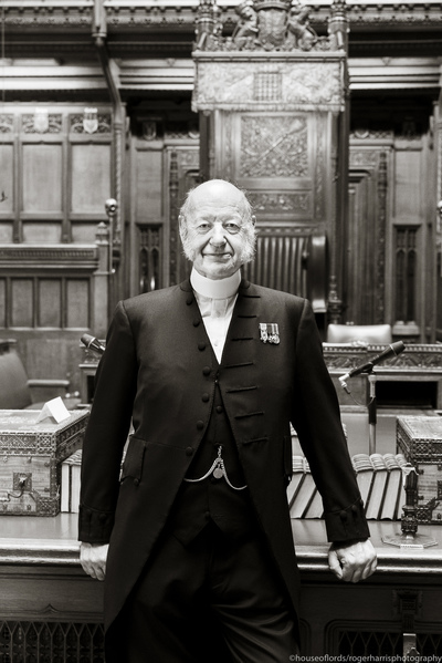 Robin Fell - principal doorkeeper at the house of commons