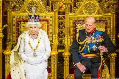Queen Duke of Edinburgh state opening parliament