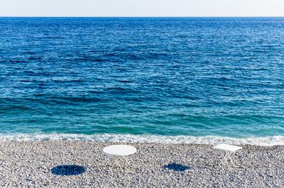 beach tables Nice 2015