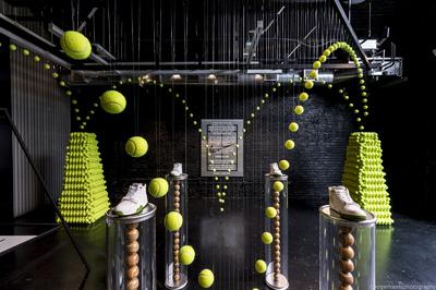 tennis installation Nike