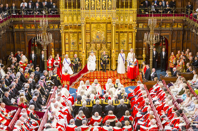 state opening of parliament house of lords