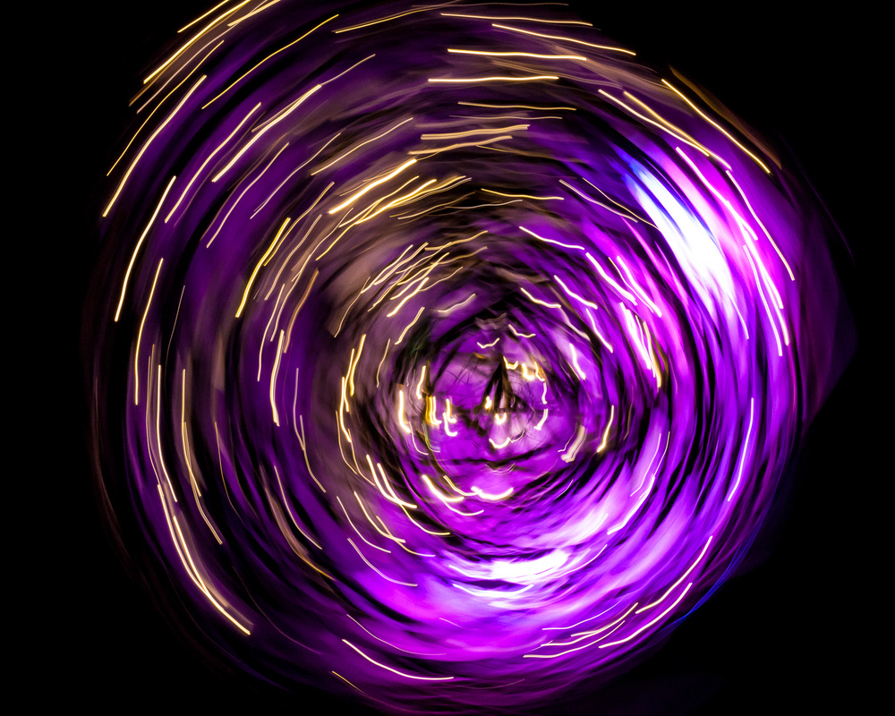 Aestract - Spinning lights