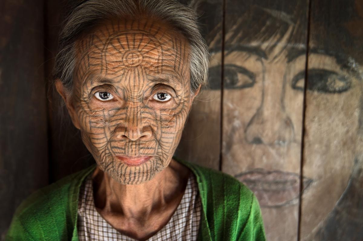 Myanmar Chin People
