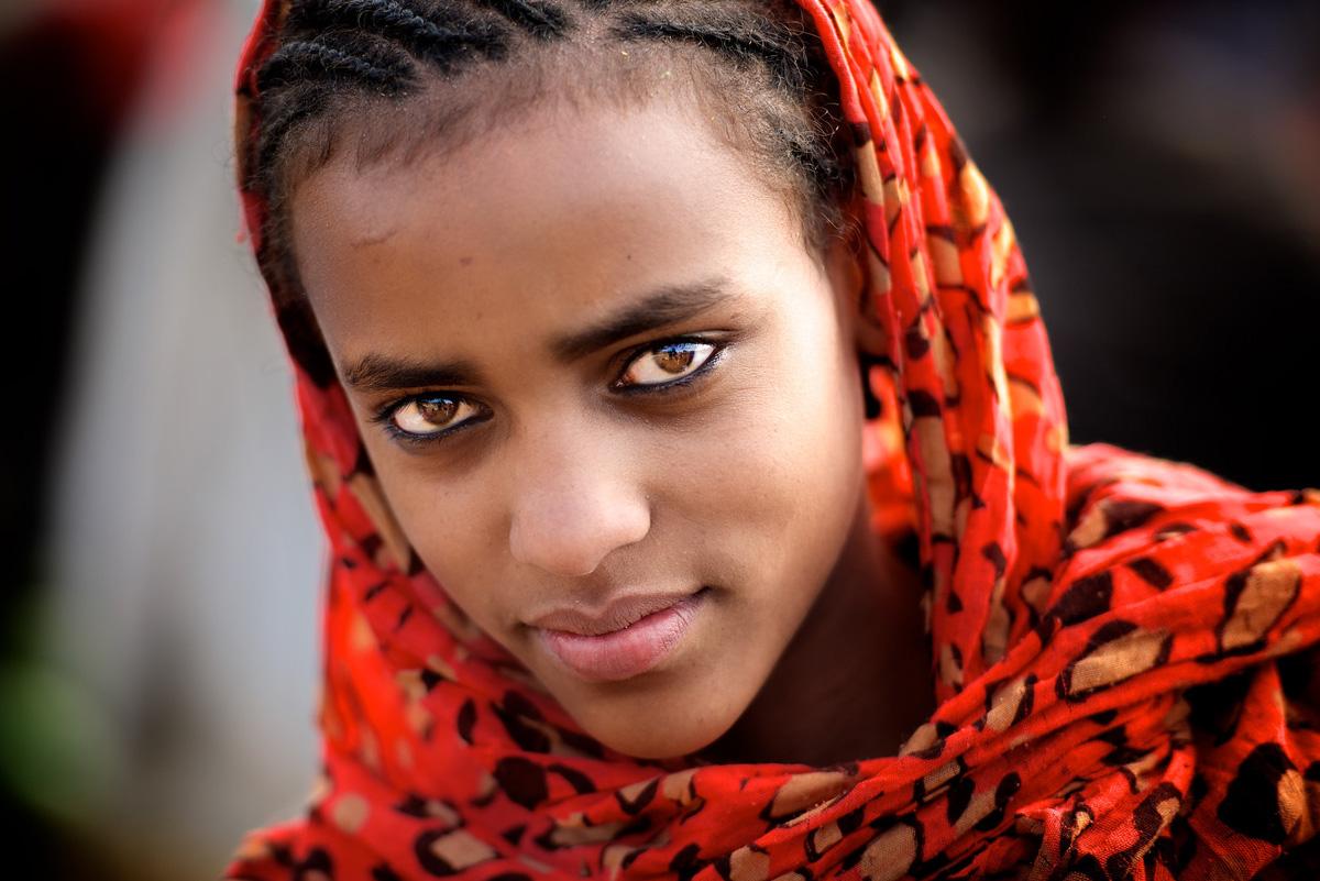 Single ethiopian girl