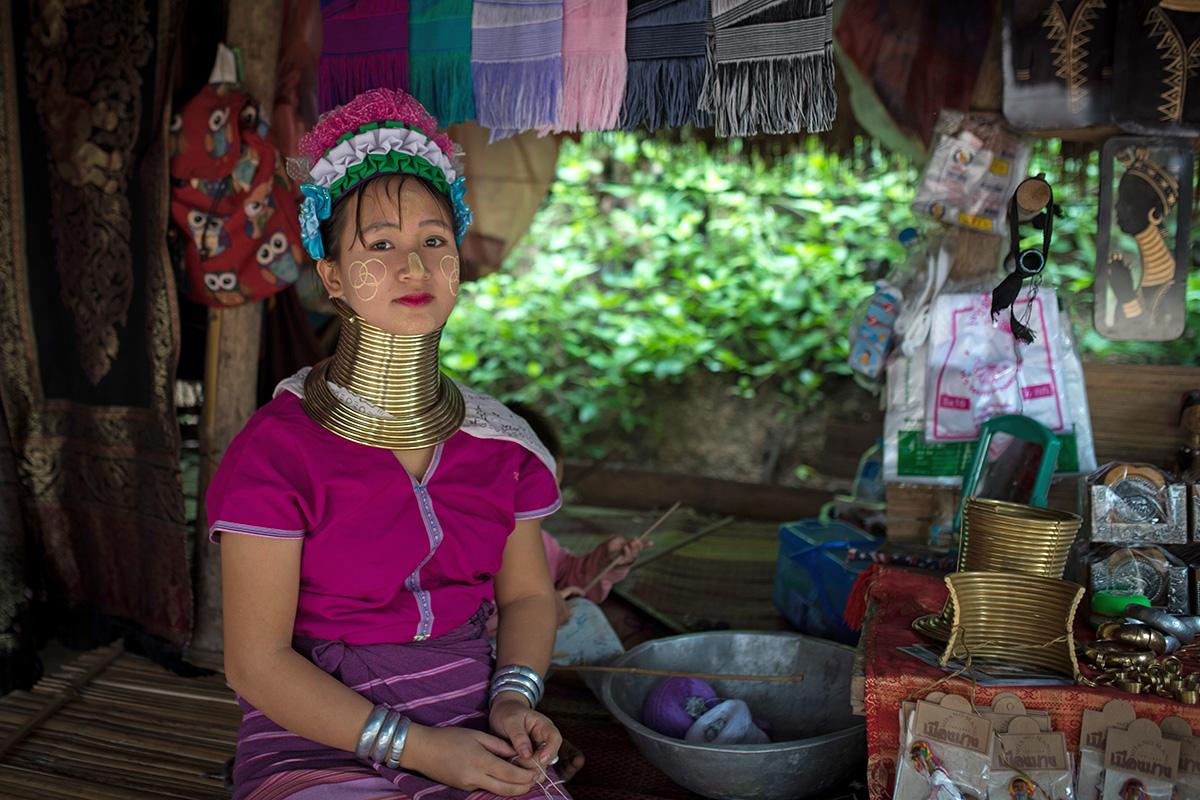 Thailand, Kayan People
