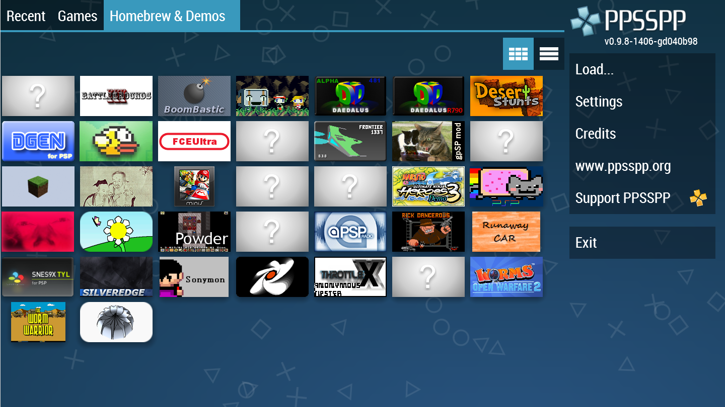 free download games for ppsspp emulator