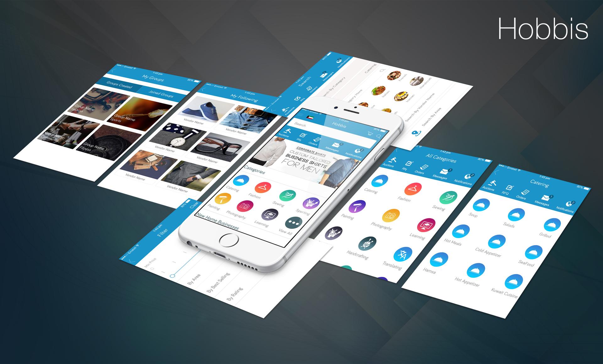 Mobile Apps Development Kuwait, Web Development Kuwait