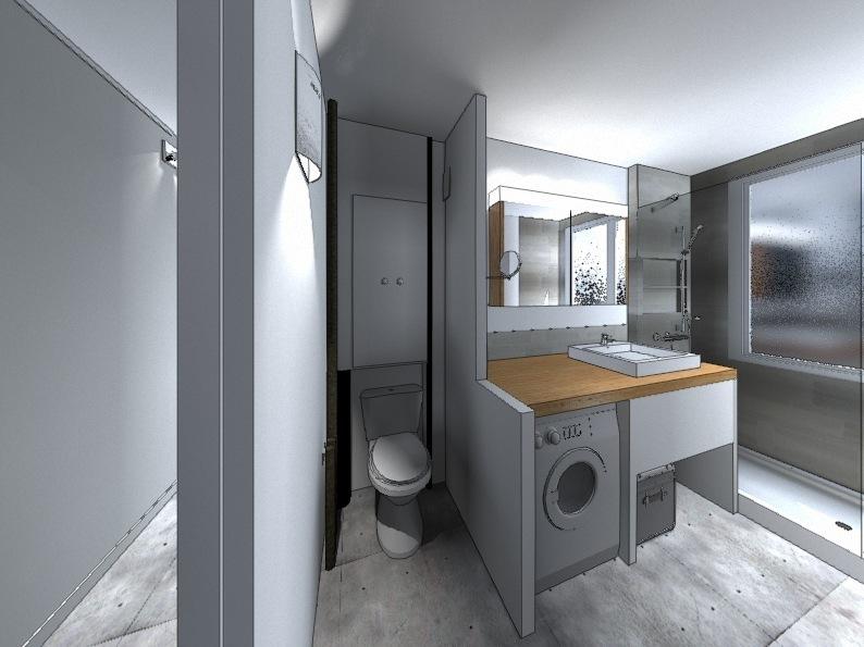 Nelly CORTOT - Rénovation d'une salle de bain - Montrouge