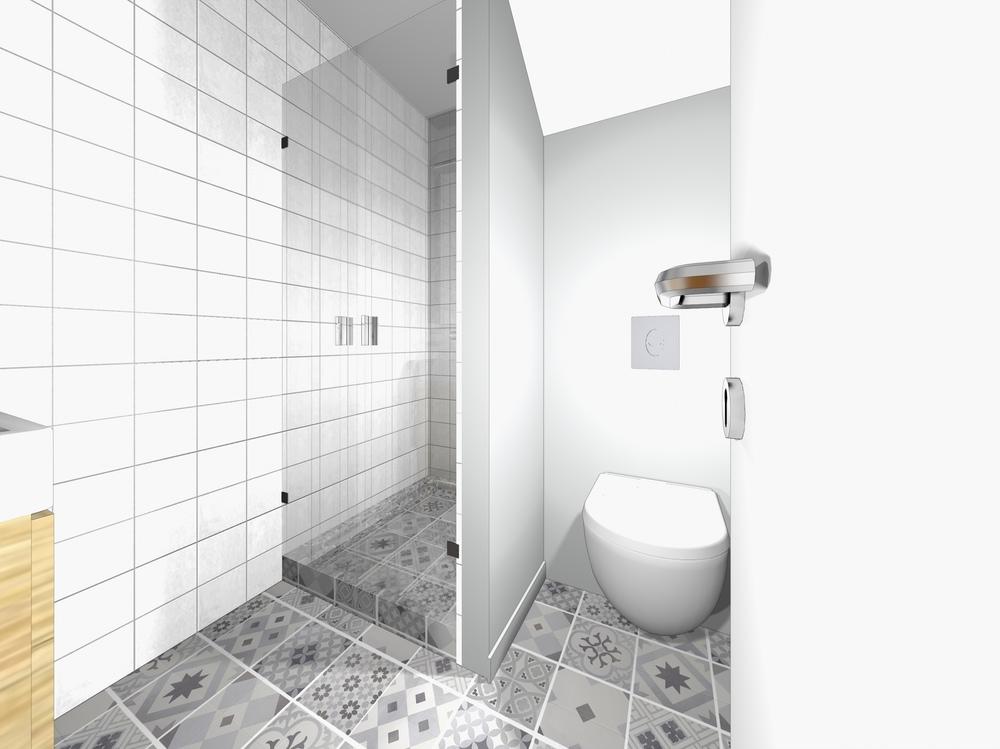 Nelly CORTOT - Salle d'eau, coin bureau & décoration salon - Antony - Projet en cours