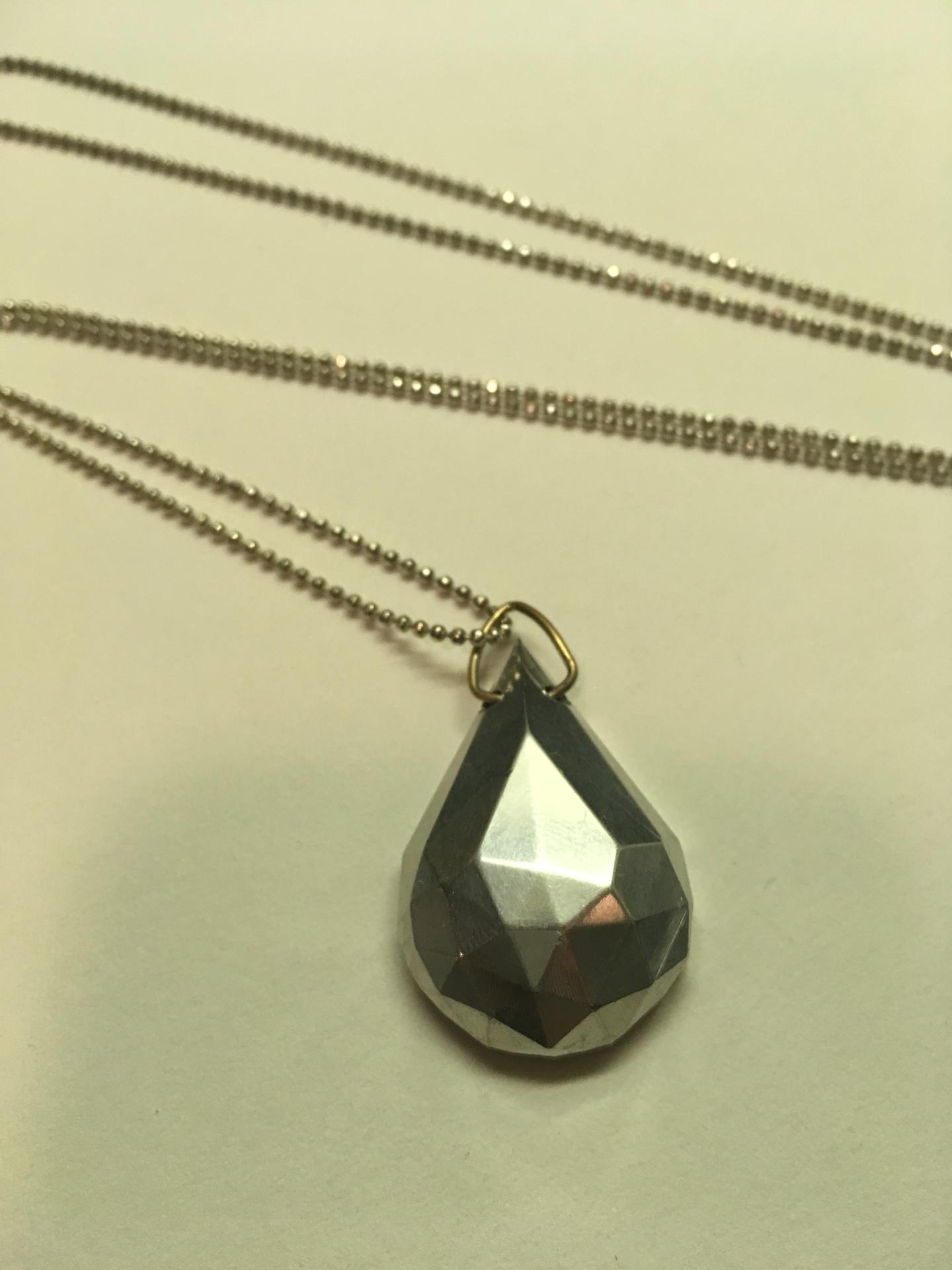 Milled Gemstone Necklace