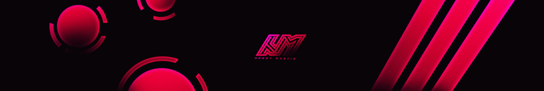 Henry Martin - Youtube Banners