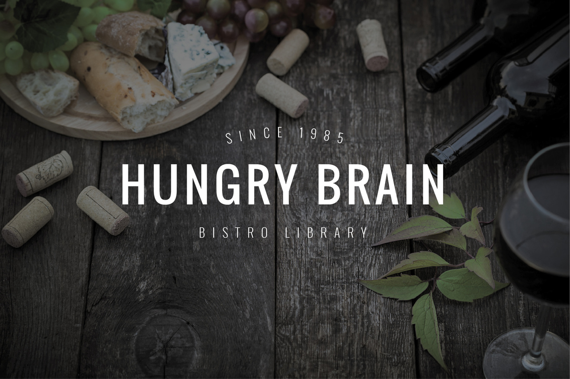 Isabel de Peque - Hungry Brain Bistro library