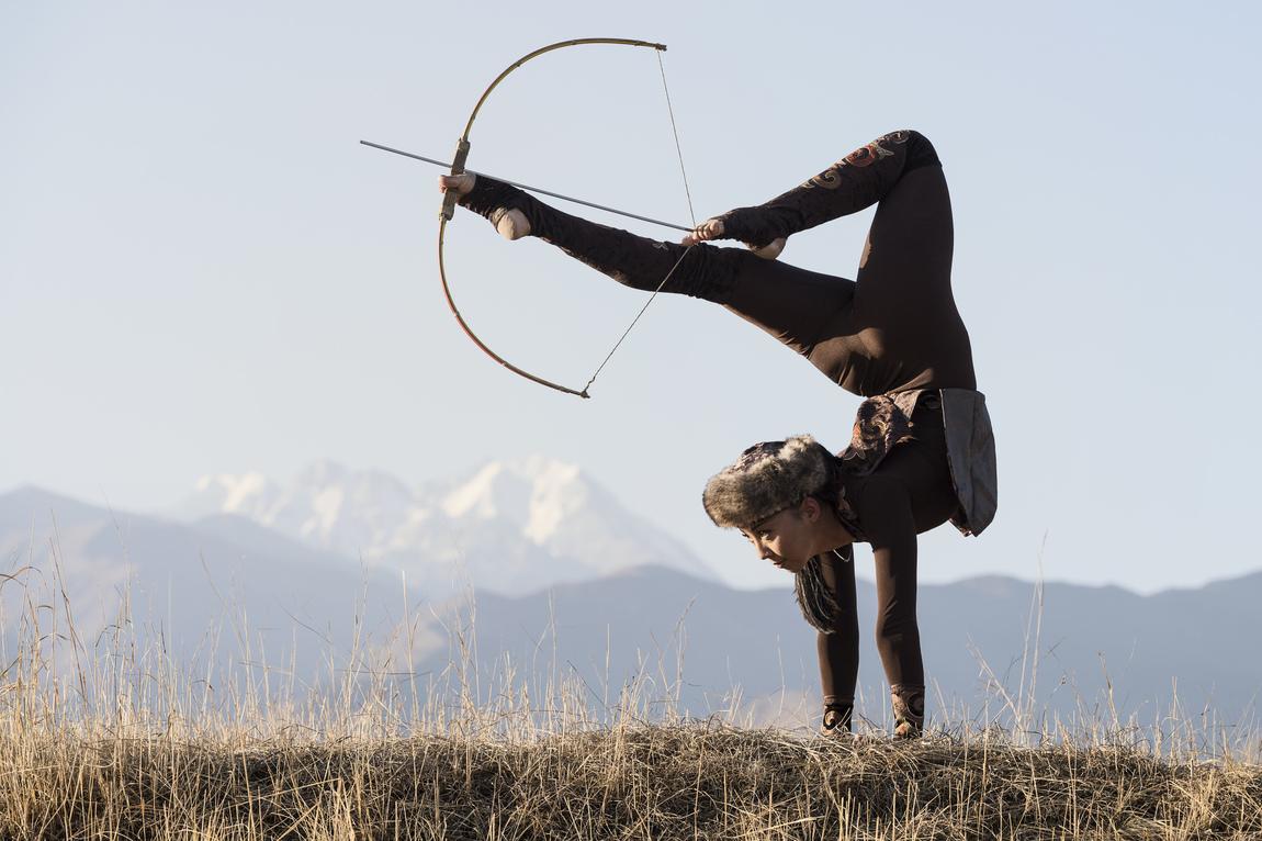 estibalitzphotography - Traditional archery portraiture