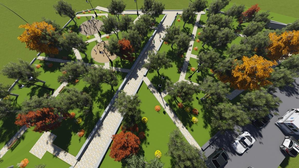 Aram Hovhannisyan - Garden /American University of Armenia/