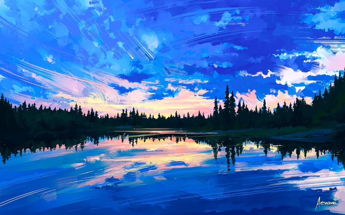 Aenami - Sky Mirror