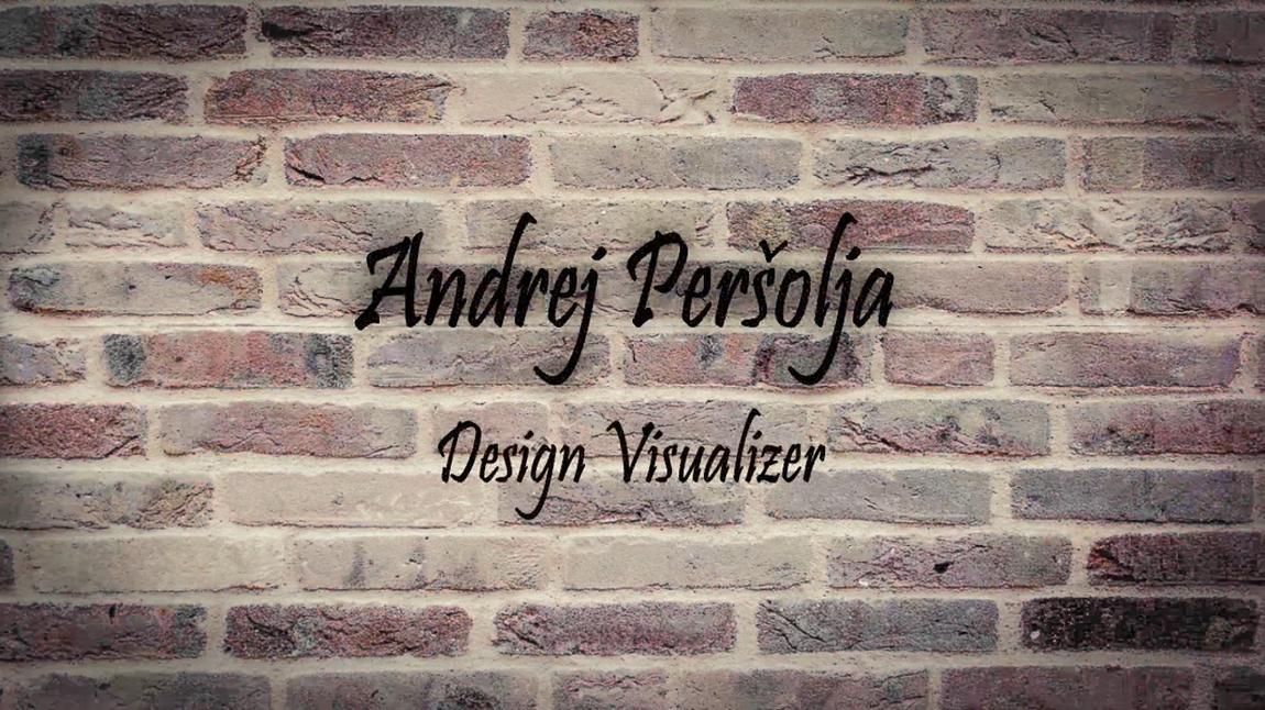 Andrej Peršolja - Demo Reel