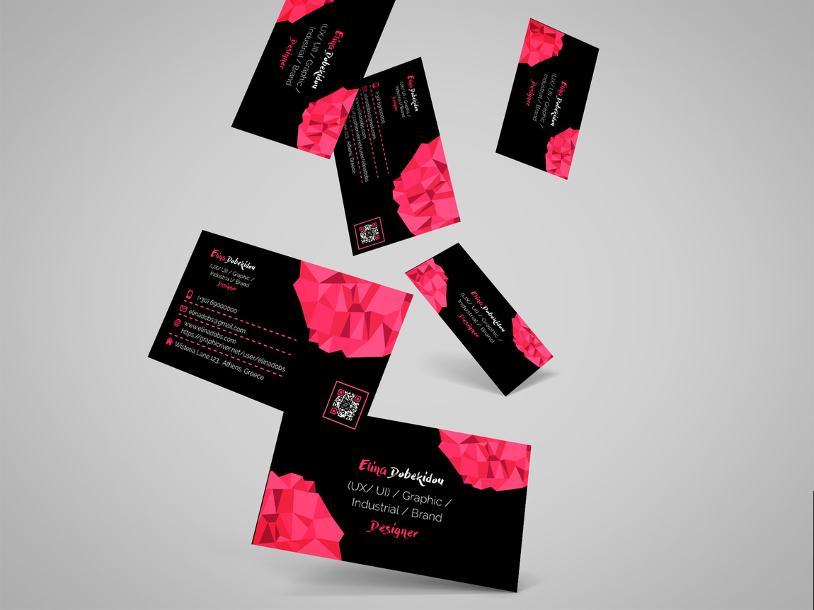 Elina Dobs - Designer Business Card