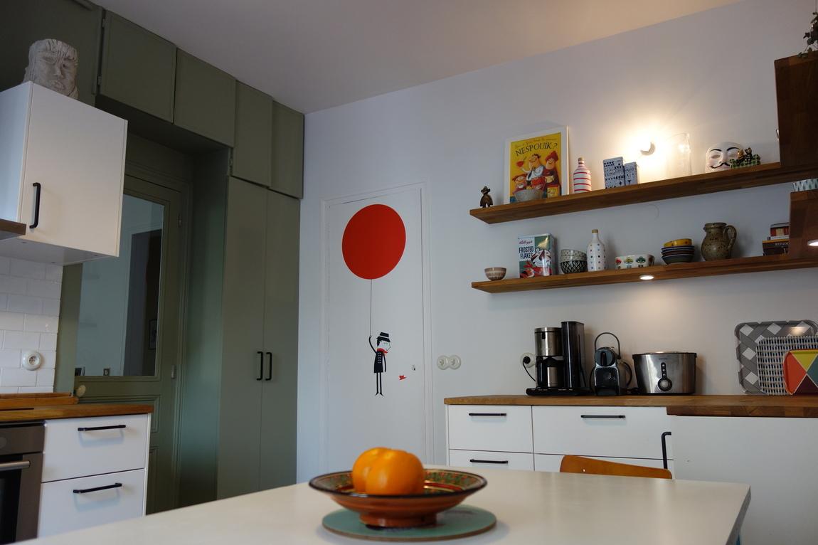 Nelly CORTOT - Une cuisine moderne-rétro en 3 semaines - Montrouge - Projet en cours