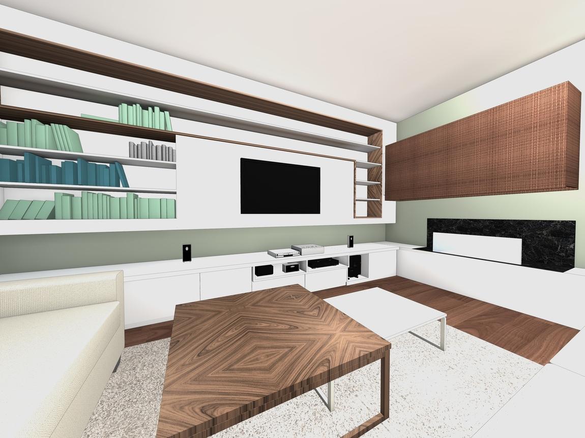 Nelly CORTOT - Amenagement & décoration d'un séjour - Montrouge - Projet en cours