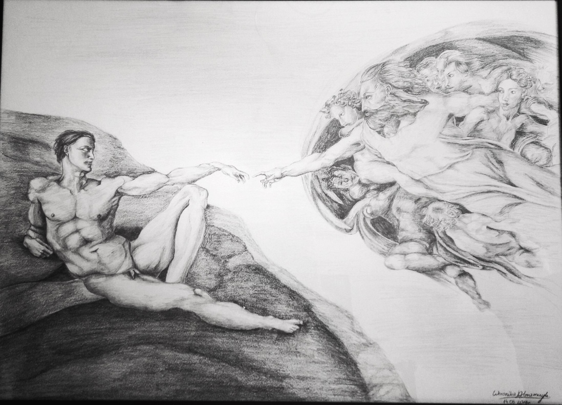 Weronika Abramczyk - The creation of Adam