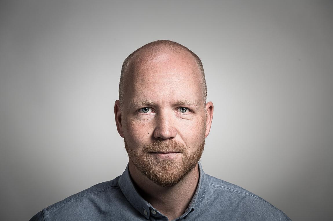 """Markus Holm - Portrait for """"Please Copy Me""""- Mattias Åkerberg"""