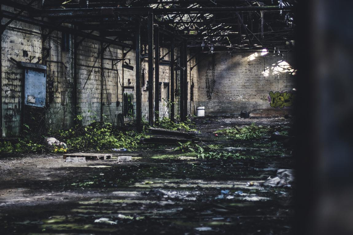 Amber Mills - Urban Exploration