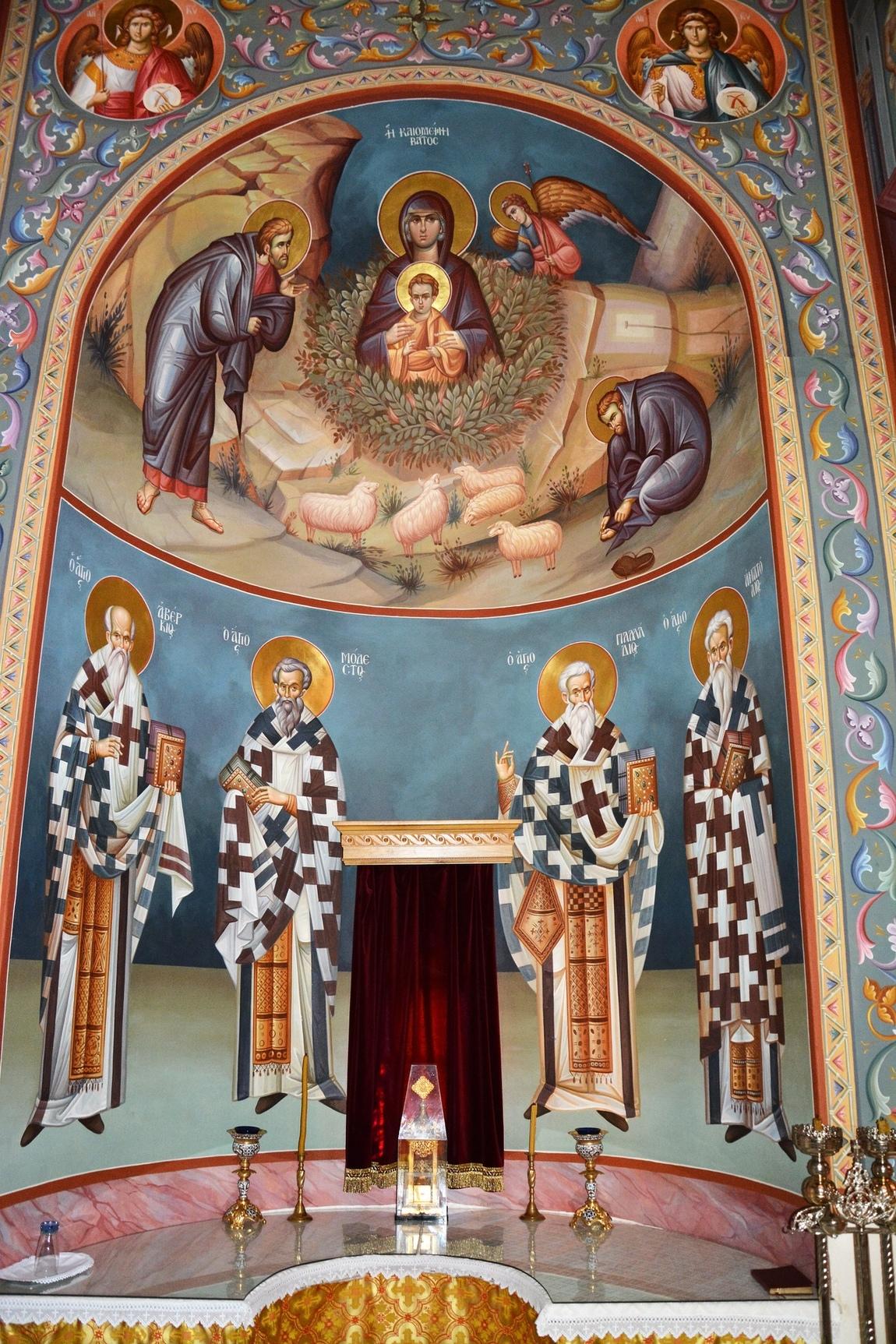 Themis Petrou - Holy Trinity's Church (Glifada, Greece)