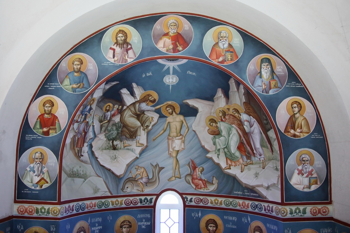 Themis Petrou - Transformation's Monastery (Naupaktos,Greece)