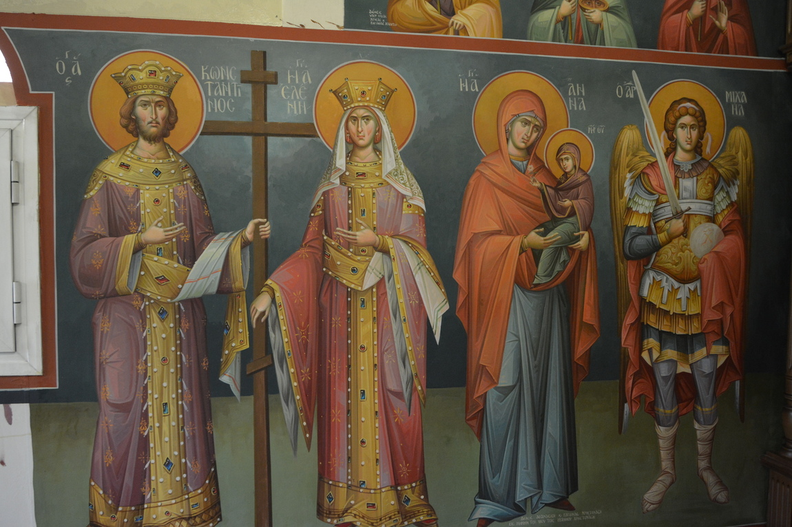 Themis Petrou - Τhree Prelates Chapel (Athens, Greece)