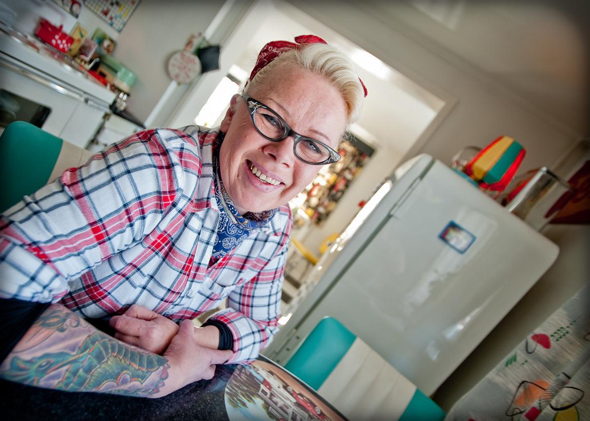 Bertil Lindgren - Shake this Town, porträtten