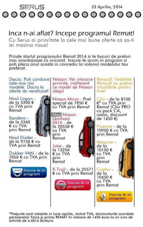 Rox - Newsletter - Car Service