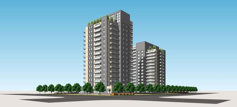 Eduard Davtyan - Multi-storey houses