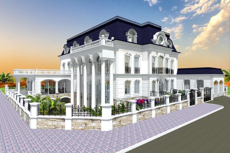 Eduard Davtyan - Drawing buildings and exterior