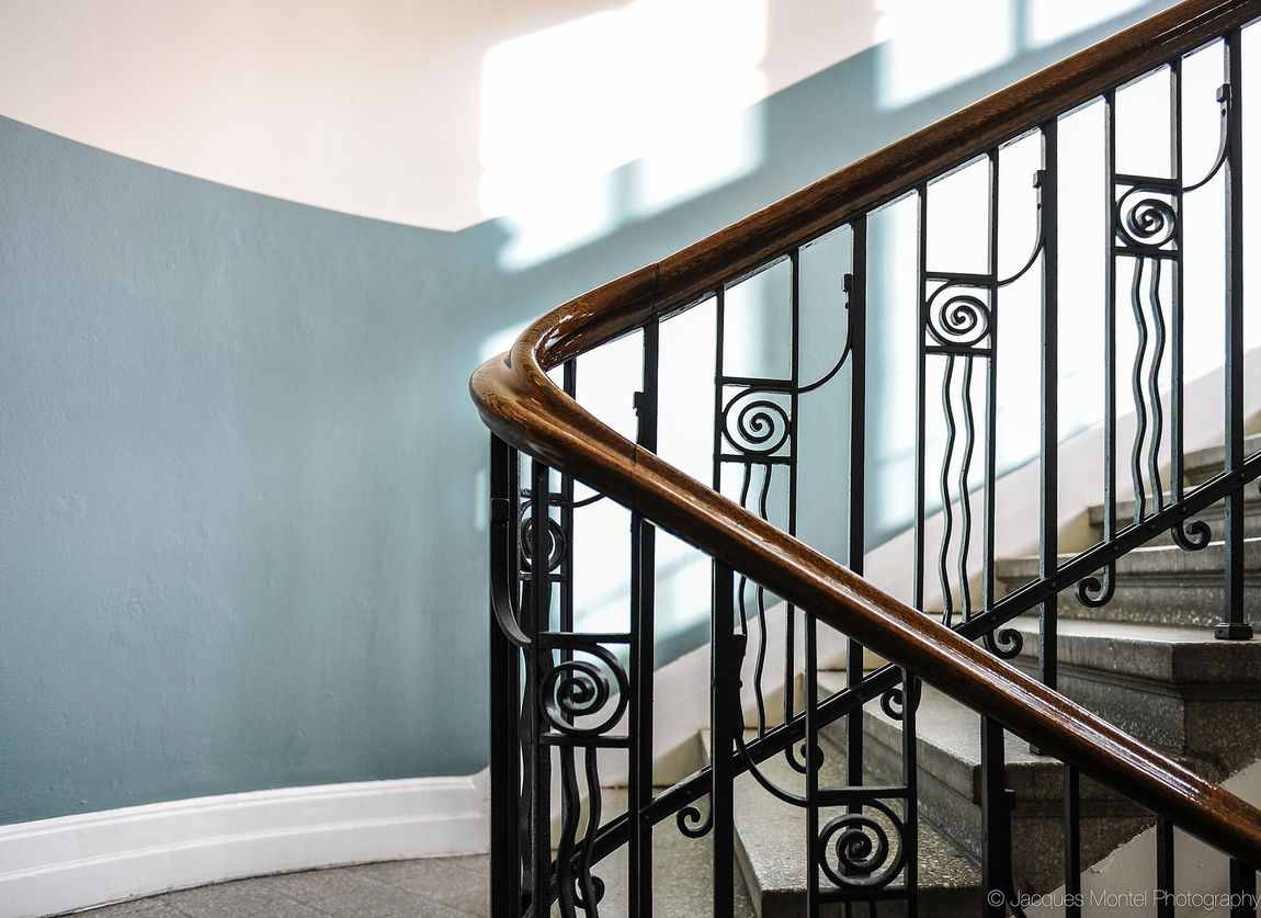 Jacques Montel - STAIRWELL TO...