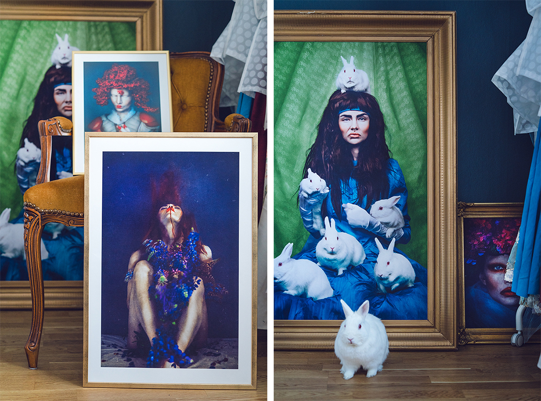 Lisalove Bäckman - A few self-portraits as prints