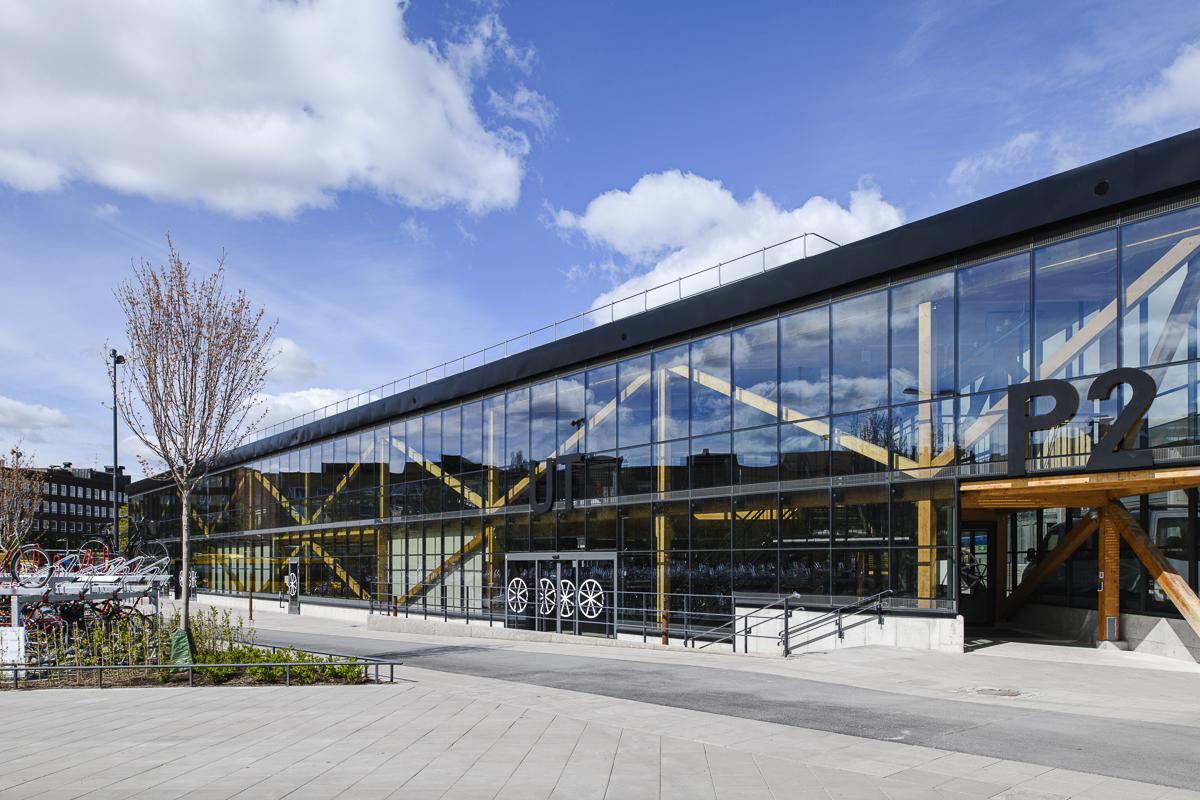 Devis Bionaz - Cykelparkeringshuset i Uppsala