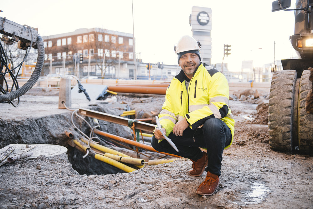 Daniel Nestor - Schaktmiljö Sverige