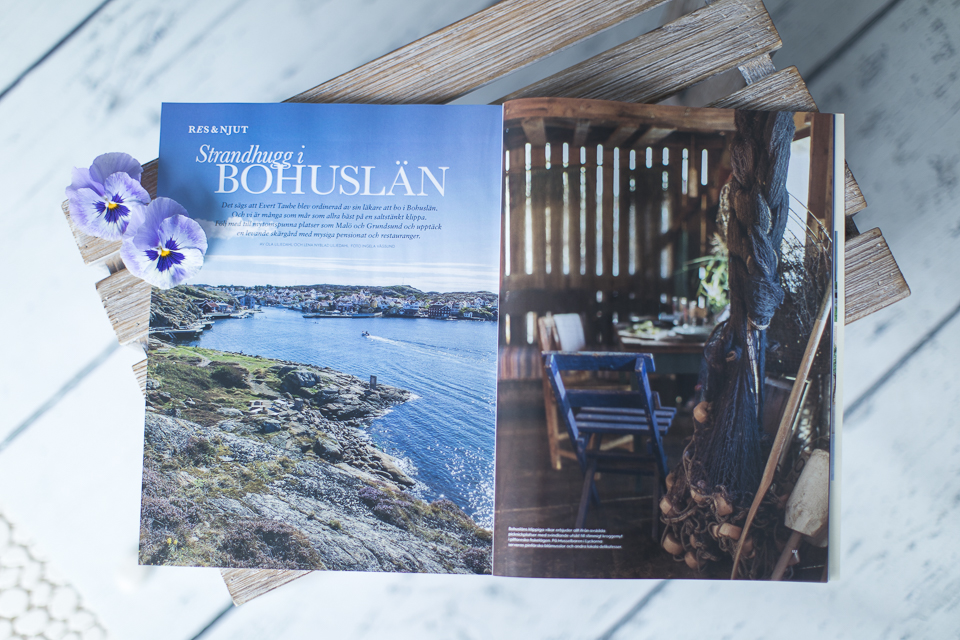 Ingela Vågsund - Swedish Westcoast - Magazine Lantliv 2