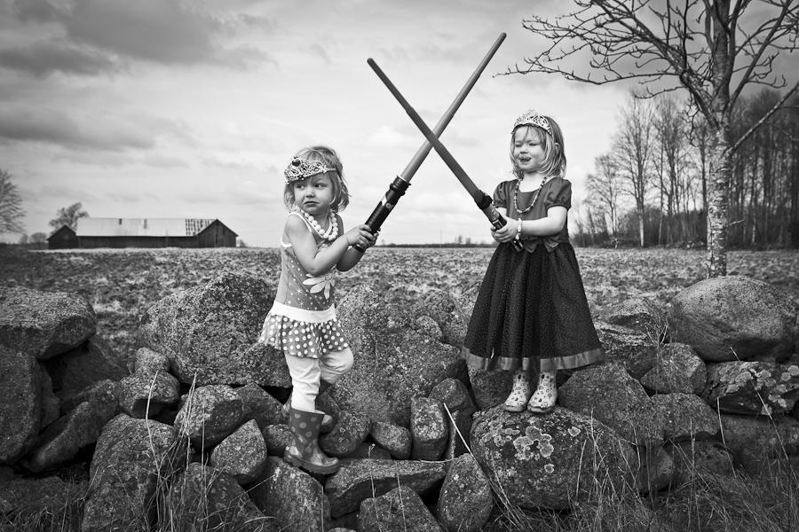Anna Nordström - Upptäcktslekande - fotoprojekt kring genus