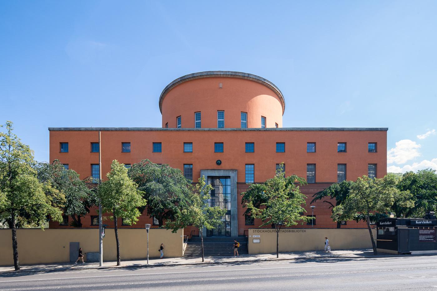 Lasse Olsson - Stadsbiblioteket - Stockholm