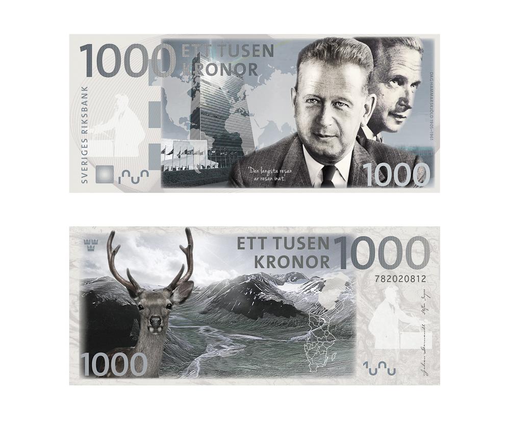 Vince Reichardt - Nya sedlar. tävlingsbidrag
