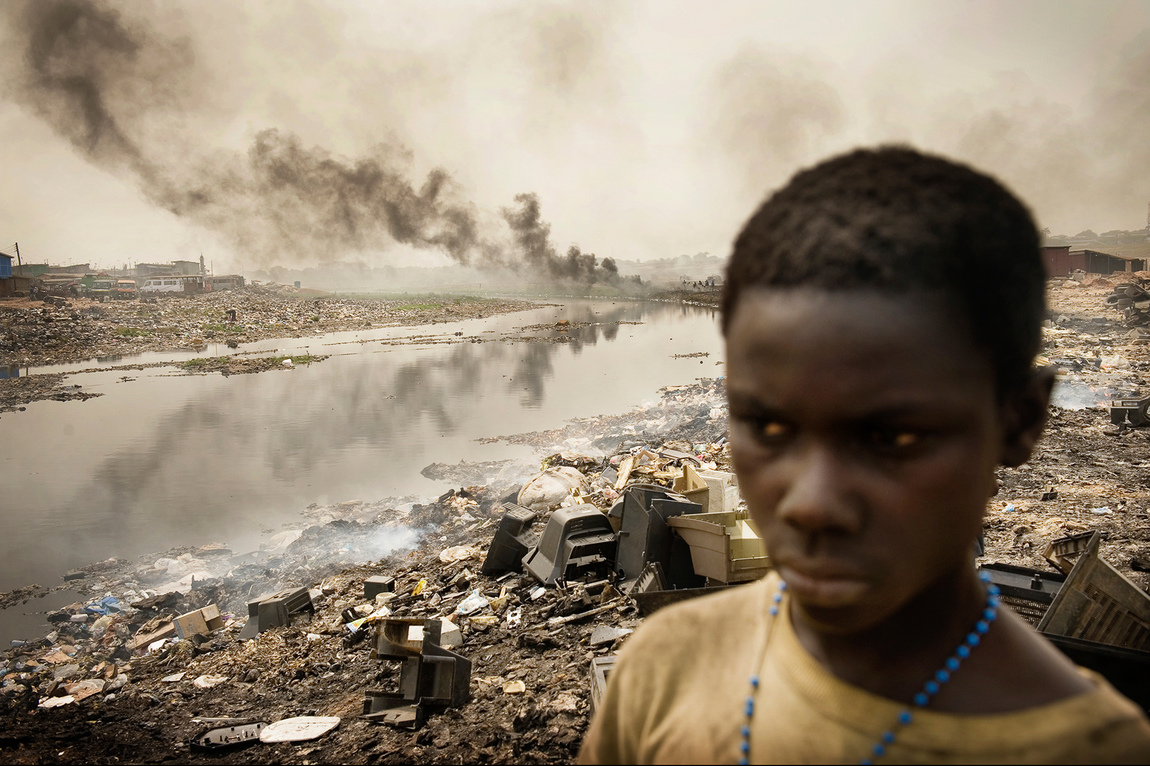 Anders G Warne - Reportage, e-waste Ghana
