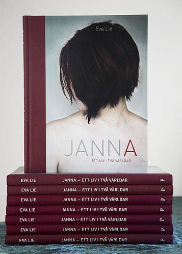 """Eva Lie - """"Janna - Ett liv i två världar"""". Passage förlag"""