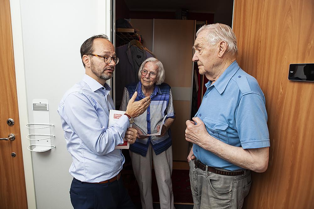 Carl von Scheele - Un jour avec le ministre de l'infrastructure / En dag med minister Eneroth