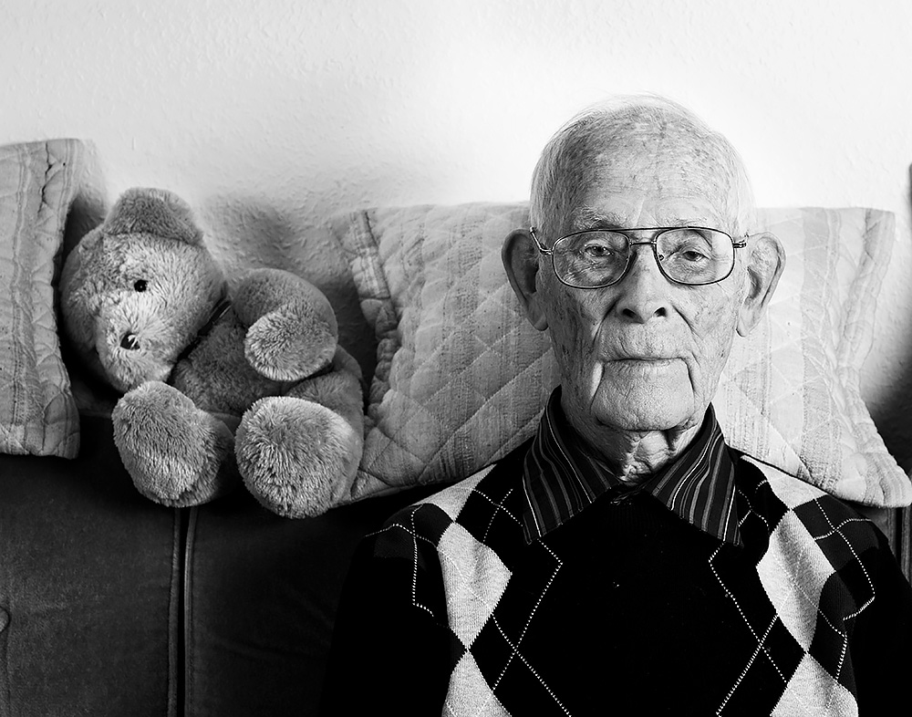 Carl von Scheele - 100! (Portraits de centenaires Suédois / Porträtt av hundraåringar)